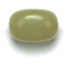 Semi-precious 8X12mm Nugget 16in Strung Olivine Jade